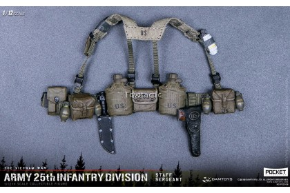 DAMTOYS PES006 1/12 POCKET ELITE SERIES -  ARMY 25th Infantry Division Private Staff Sergeant