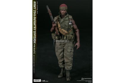 DAMTOYS PES011 1/12 POCKET ELITE SERIES -  ARMY 25th Infantry Division Private with M79 Grenade Launcher