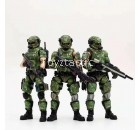 JOYTOY 1/18 Russian Camouflage Team (3 Figures)