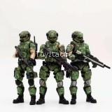 JOYTOY 1/18 Russian Camouflage Team (3 Figures)
