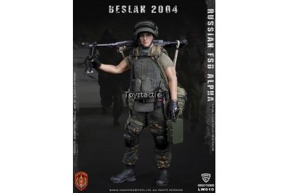 Crazy Figure LW0101/12 Russian Alpha Special Forces Machine Gunner
