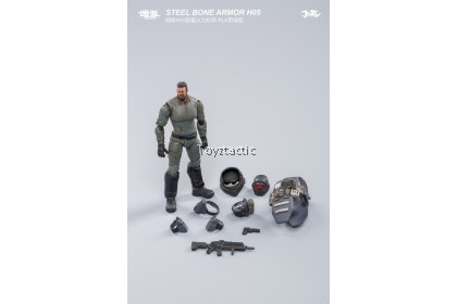 JOYTOY 1/25  H05 STEEL BONE HEAVY FIREPOWER ARMOR (MILITARY GREEN)