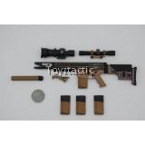Easy & Simple 26037 1/6 SMU Tier 1 Operator Part IX Ranger Regimental Reconnaissance Company - MK17 7.62mm Assault Rifle set