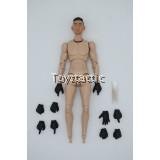 DAMTOYS PES008 - 1/12 POCKET ELITE SERIES: HONGKONG SDU (SAM SIR) - 1/12 Body with Headsculpt & Gloved Hands