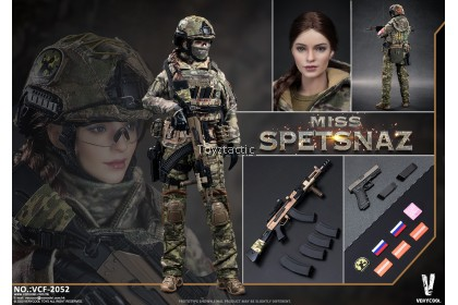 VERYCOOL VCF-2052 1/6 Russian Special Combat Women Soldier 'Miss Spetsnaz'