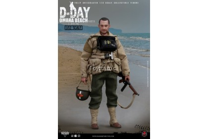 SOLDIER STORY SSM-004 1/12 Scale WWII US 2nd Ranger Battalion 'Captain' with Diorama Combo