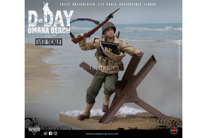 SOLDIER STORY SSM-005 1/12 Scale WWII US 2nd Ranger Battalion 'Sergeant' with Diorama Combo