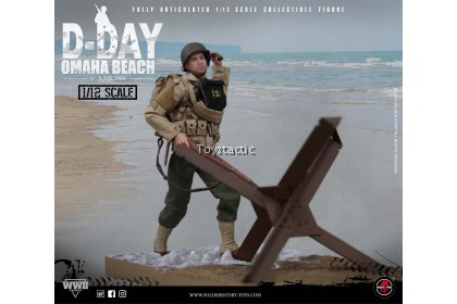 SOLDIER STORY SSM-0051/12 Scale WWII US 2nd Ranger Battalion 'Sergeant' with Diorama Combo