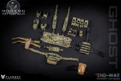 FLAGSET FS-73033 1/6 MODERN BATTLEFIELD END WAR 'GHOST'
