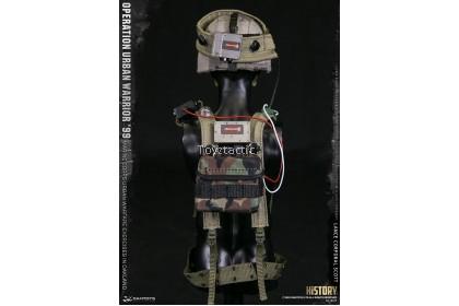 "DAMTOYS 78079 1/6 Operation Urban Warrior '99 - Marine Corps Urban Warfare Exercises in Oakland ""Lance Corporal Scott"""