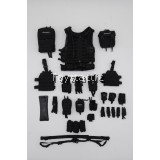 DAMTOYS 78071 - 1/6 RUSSIAN SPETSNAZ FSB ALPHA GROUP St.Petersburg - SRVV Tactical Vest with Various Pouches