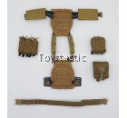 Easy & Simple 26038R 1/6 S.A.D Special Operation Group Casual Version - Plate Frame Modular Vest with Pouches