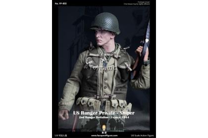 FACEPOOLFIGURE FP003A 1/6 US Ranger Private Sniper 2nd Ranger BattalionFrance 1944