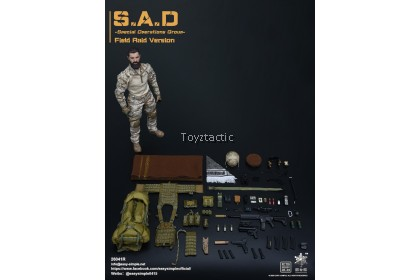 Easy & Simple 26041R 1/6 S.A.D Special Operation Group Field Raid Version