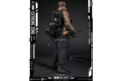 DAMTOYS EBS001 1/6 EXTREMEZONE Samurai SAKIFUJICRAIG Collectible Figure