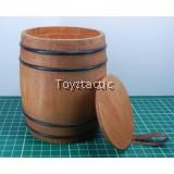 1/6 Wooden Barrel