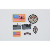 DAMTOYS 78074 1/6 1st SFOD-D Combats Application Group Gunner - Patches