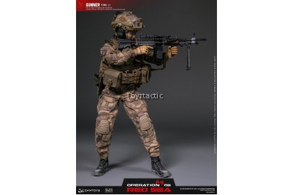 "(PREORDER) DAMTOYS DMS015 1/6 OPERATION RED SEA PLA NAVY MARINE CORPS ""JIAO LONG"" SPECIAL OPERATIONS BRIGADE GUNNER TONG LI"