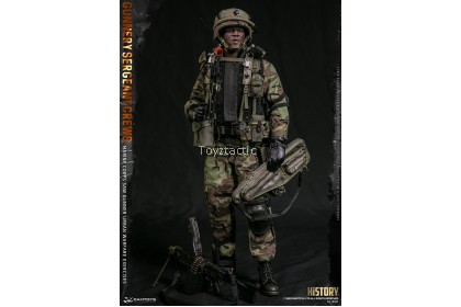 "(PREORDER) DAMTOYS 78082 1/6 Marine Corps SAW GUNNER Urban Warfare Exercises ""Gunnery Sergeant Crews"""