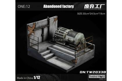 TWTOYS TW2033 Type B/D/F- 1/12 Abandoned Factory Scene