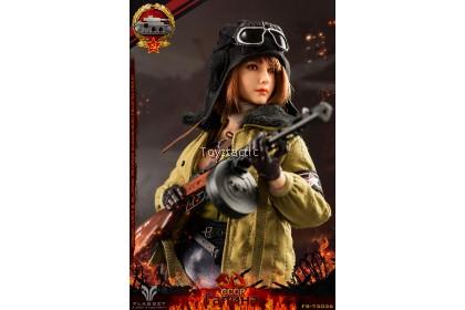 (PREORDER) FLAGSET FS73036 1/6 Red Alert Soviet Female Tank Lieutenant