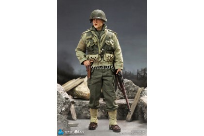 DID A80144 1/6 WWII US 2nd Ranger Battalion Series 4 -Private Jackson