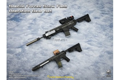 Easy & Simple 06026 1/6 Special Forces Snow Field Operation Gear Set