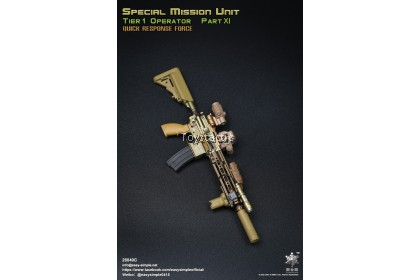 (PREORDER) Easy & Simple 26040C 1/6 SMU Tier 1 Operator Part XI Quick Response Force