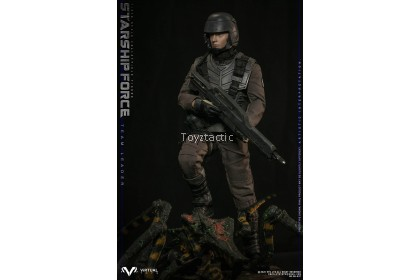 (PREORDER) VTS TOYS VM037DX 1/6 Starship Force-Team Leader Deluxe Version