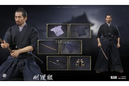 (PREORDER) POPTOYS EX033 1/6 Brave samurai-UJIO Kendo version