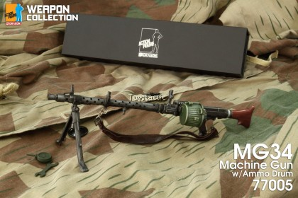 (PREORDER) DML 77005 1/6 MG34 Machine Gun with Ammo Drum