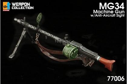 (PREORDER) DML 770061/6 MG34 Machine Gun with Ammo Drum