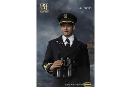 (PREORDER) ALERT LINE AL100033 1/6 WWII U.S.NAVY Destroyer Commander