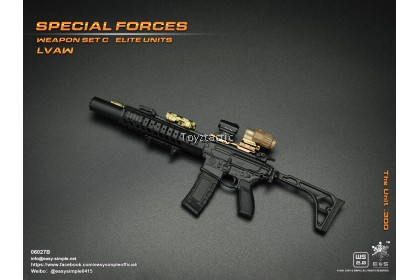 (PREORER) Easy & Simple 06027 1/6 Special Forces Weapon Set C Elite Units LVAW - The Unit .300