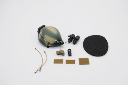 DAMTOYS 78077 1/6 1st SFOD-D Combat Applications Group TEAM LEADER - MICH 2002 Helmet with AN/AVS-9 NVG