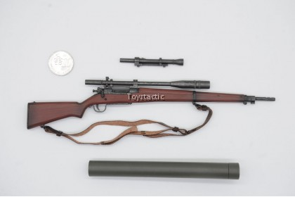 FACEPOOLFIGURE FP003A 1/6 US Ranger Private Sniper 2nd Ranger Battalion France 1944 - M1903-A1 Springfield Rifle