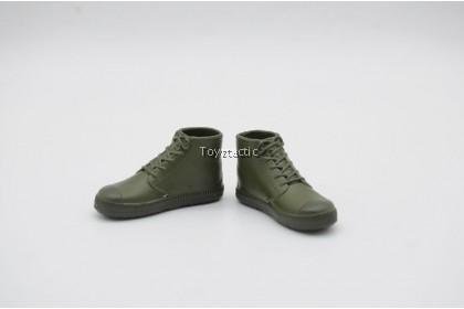 Mini Times Toys M-022 1/6 Sino Vietnamese War 2.0 - Type 65 Vintage Liberation Shoes Boots