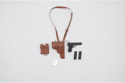 Mini Times Toys M-022 1/6 Sino Vietnamese War 2.0 - Type 54 Tokarev Pistol with Leather Holster Set