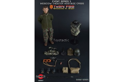 (PREORDER) UJINDOU UD9007 1/6Moscow Theater Hostage Crisis