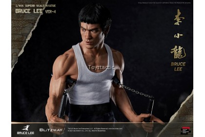 (PREORDER) BLITZWAY BW-SS-20901 1/4Bruce Lee Tribute Statue - ver. 4
