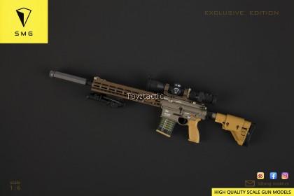 SMG 02-3001 1/6 m110A1 CSASS Sniper Rifle - Tan