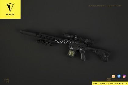 SMG 02-30021/6 m110A1 CSASS Sniper Rifle - Black