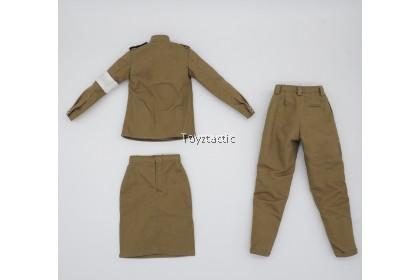 ALERT LINE AL100032 1/6 WWII Soviet Medical Female Soldier - Russian Female Uniform Set