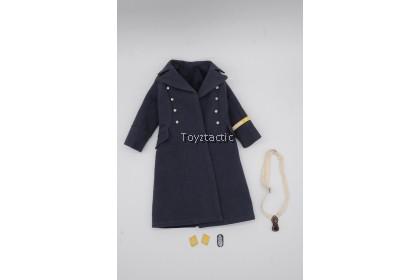 DID D80147 1/6 WWIl German Luftwaffe Captain - Willi - WWII German Luftwaffe Officer Overcoat