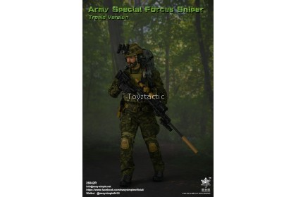 (PREORDER) Easy & Simple 26042R 1/6 Army Special Forces Sniper Tropic Version