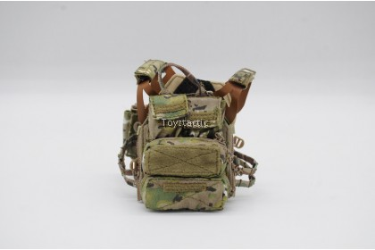 Easy & Simple 26040B 1/6 SMU Tier 1 Operator Part XI Quick Response Force - Jumpable Plate Carrier 2.0 Set
