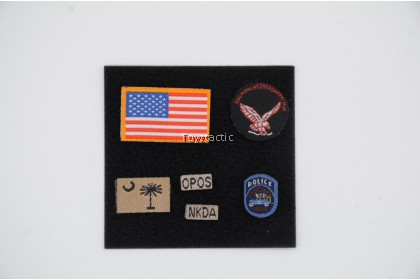 Easy & Simple 26040B 1/6 SMU Tier 1 Operator Part XI Quick Response Force - Patches
