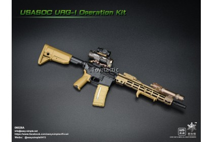 (PREORDER) Easy & Simple 06028 1/6 USASOC URG-I Operation Kit A