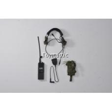 DAMTOYS 78037 - KSK Assaulter - PRC148 MBITR Radio set