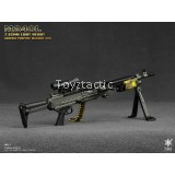 1/6 Weapon Combo Deal 1 - E&S 06013 M240L 7.62mm Light Weight Machine Gun & General Armoury Global Response Rifle Set B (Black)